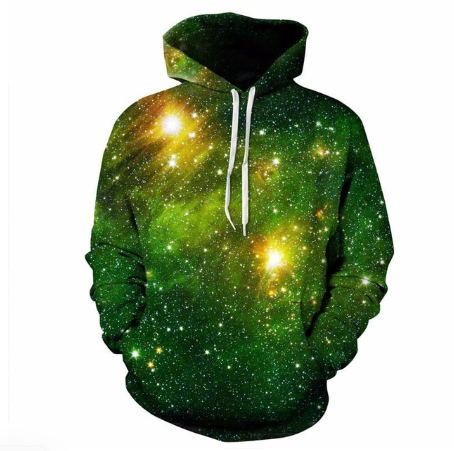 3D Space Galaxy Hoodies Sweatshirt  2