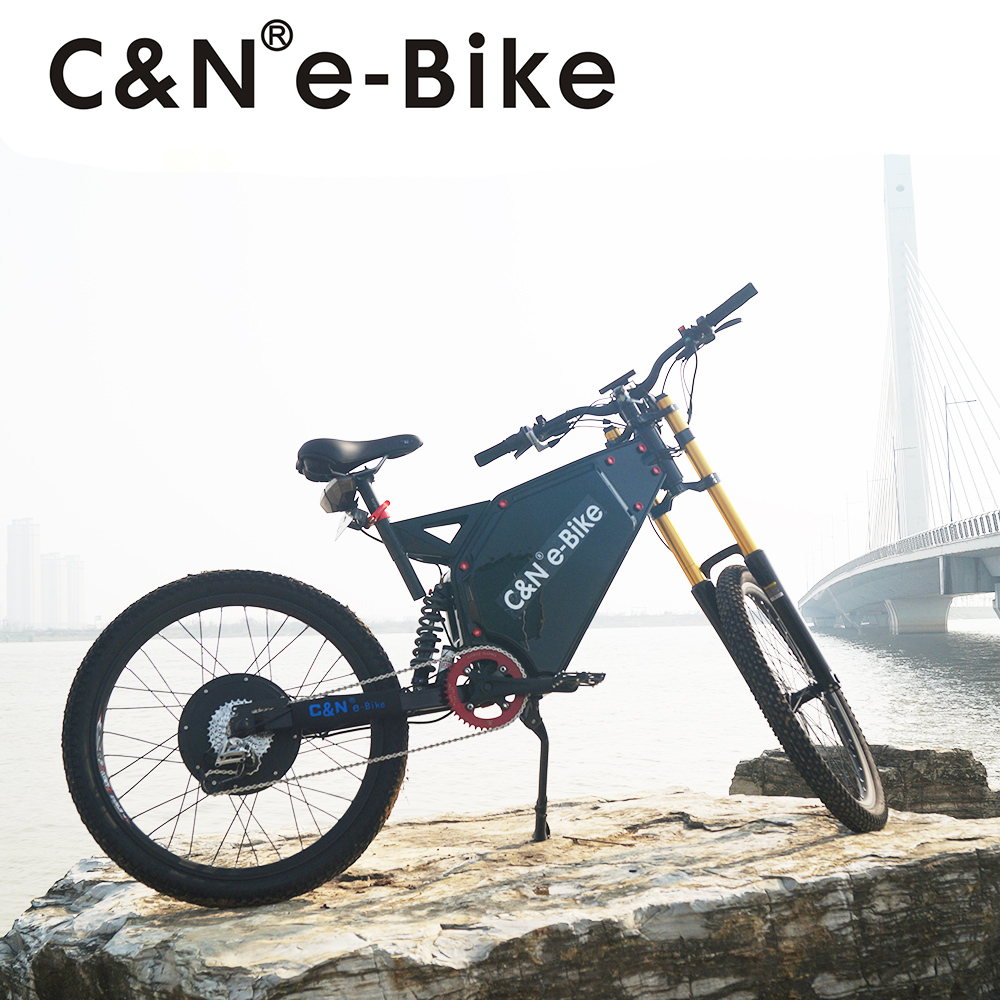 Hottest 72v 3000w Stealth bomber electric bike mountain bike enduro ebike