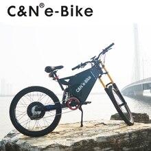 Hottest 72v 3000w Stealth bomber electric bike mountain bike enduro ebike