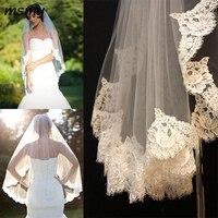 Shoulder Length White/Ivory Bridal Veils Wedding Veils Accessories for Brides