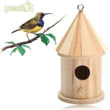 Da Giardino in legno Uccelli In Legno Scatola di Nidificazione Casa Nido  Casa di Forniture Nuovi Accessori 6d4eae89a700