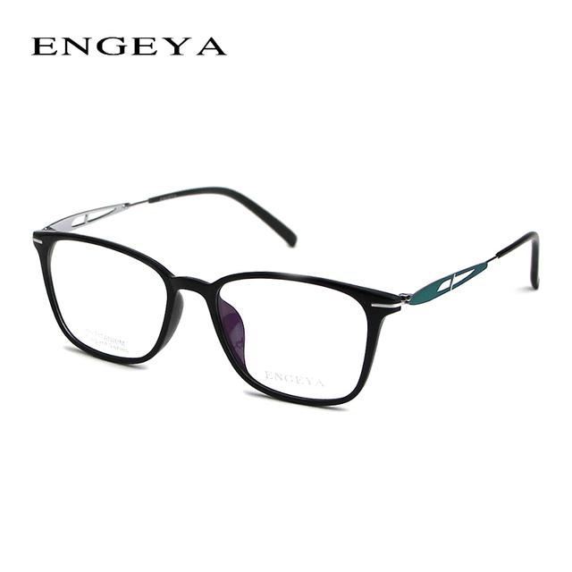 2017 ENGEYA TR90 Óptica Armações de Óculos Mulheres Prescrição Miopia Computador de Moda Lente Clara Óculos de Armação 6 Cores # F002