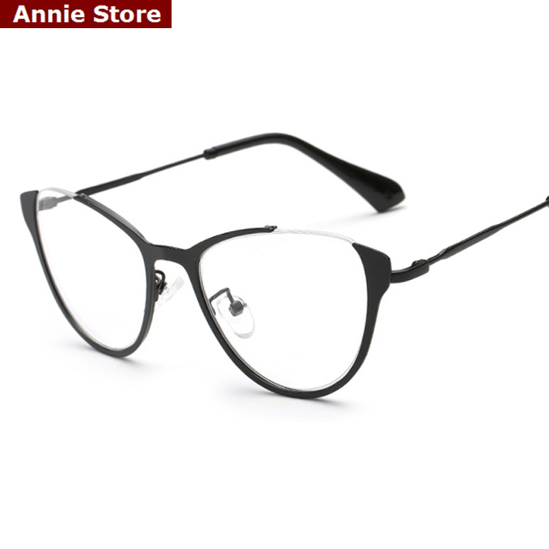 peekaboo new 2016 fashion cat eye glasses frames women vintage brand design eyewear frames cat eye