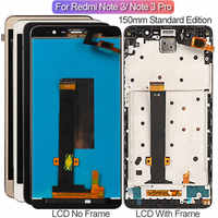 Screen For Xiaomi Redmi Note 3 Pro LCD Display With Frame Soft-key Backlight Touch Screen For Xiaomi Redmi Note 3 150mm Edition
