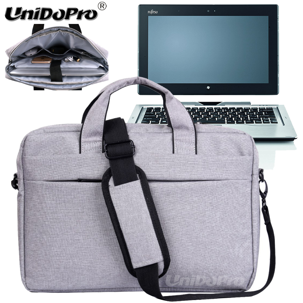 UNIDOPRO Waterproof Messenger Shoulder Bag Case for Fujitsu Stylistic Q702 11.6in Spin 2-in-1 Tablet Sleeve Cover new 2016 sexy doll japan anime alphamax skytube tony art girls pvc action figure rikka himegami sexy figure collectible figurine