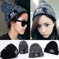 Free shipping 2015 women hats Letter knitted hat applique knitting hat warm autumn winter fashion hat design