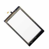 Black For Lenovo Yoga Tablet 8 B6000 Digitizer Touch Screen Panel Sensor Glass Replacement