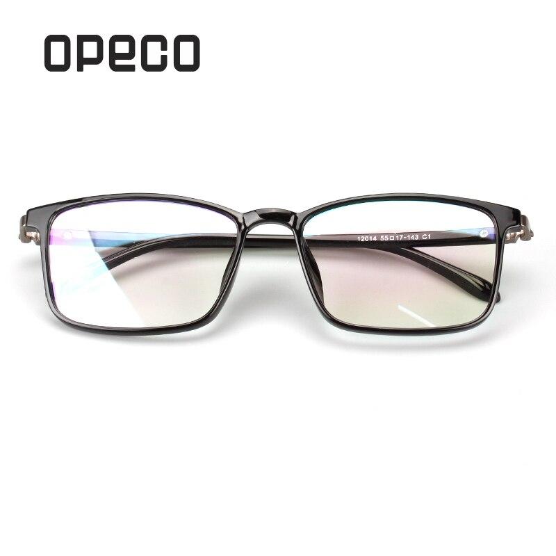 dd8ee6d67d7 Opeco TR90 men s eyeglasses including prescription Lenses RX eyewear frame  RX recipe male spectacles 12014