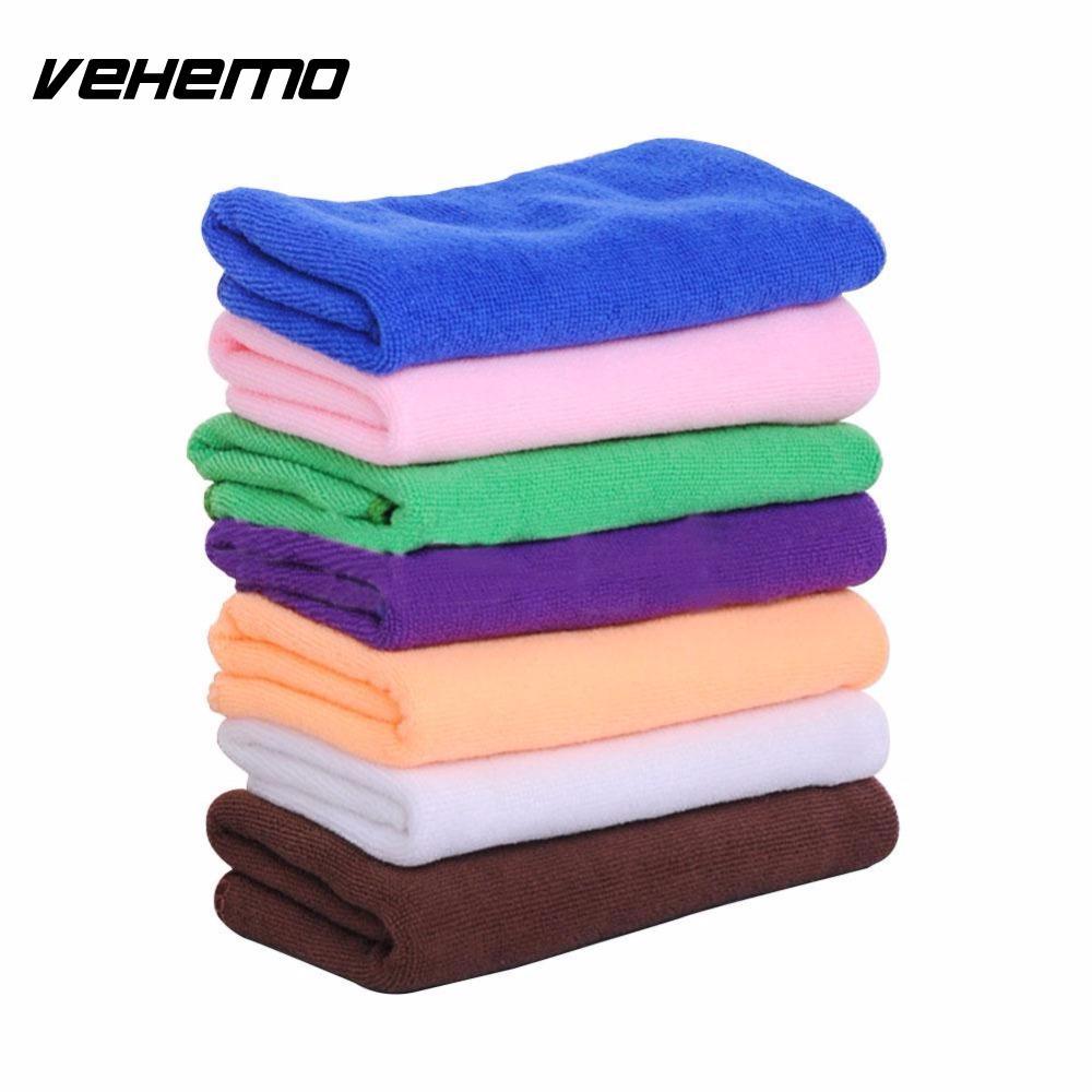 05915650a5c Set microfiber cleaning towel cloth rag duster wipe for car truck van suv  vehemo jpg 1000x1000