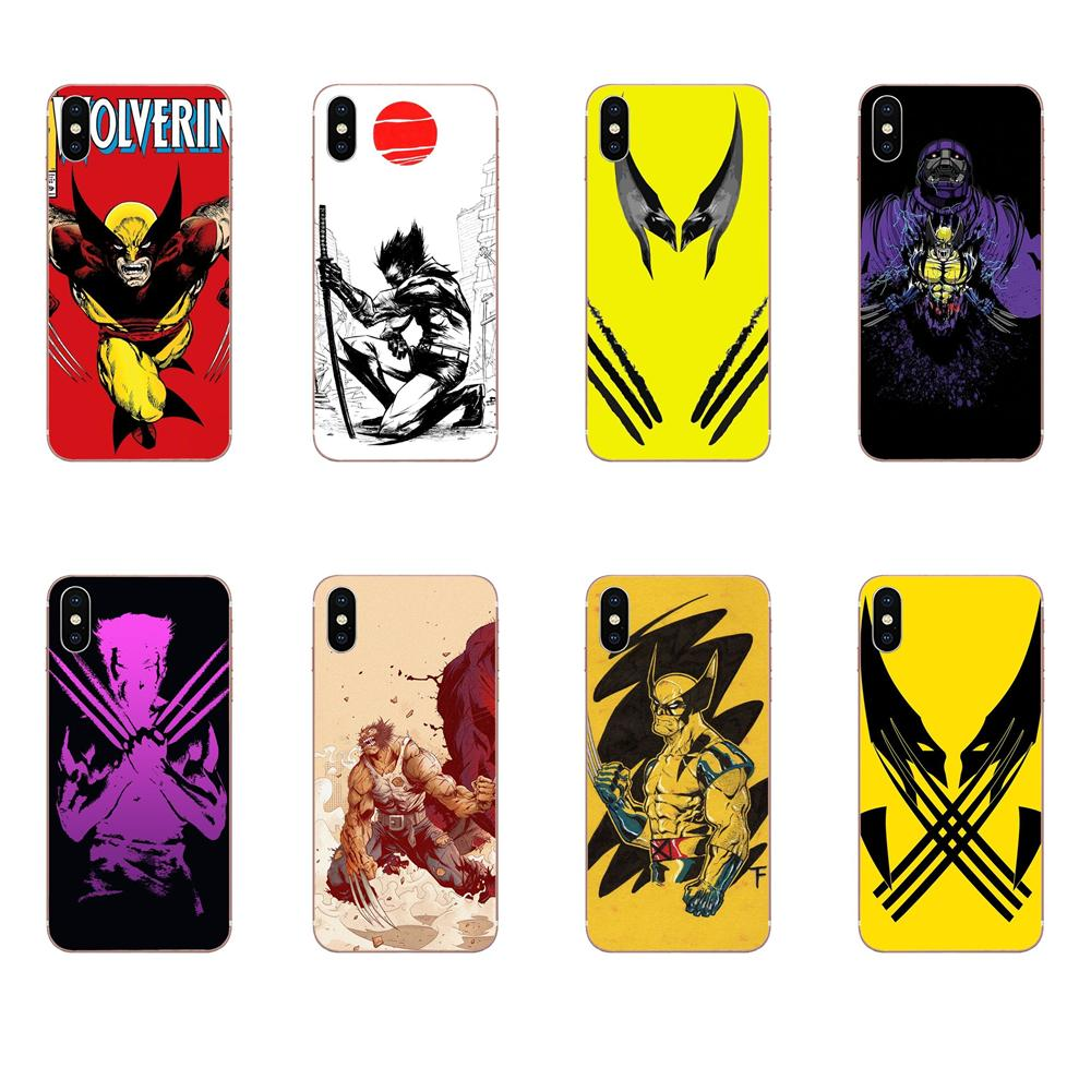 For Sony Xperia Z Z1 Z2 Z3 Z4 Z5 compact Mini M2 M4 M5 T3 E3 E5 XA XA1 XZ Premium Soft Covers Cases Comics X-men Wolverine image