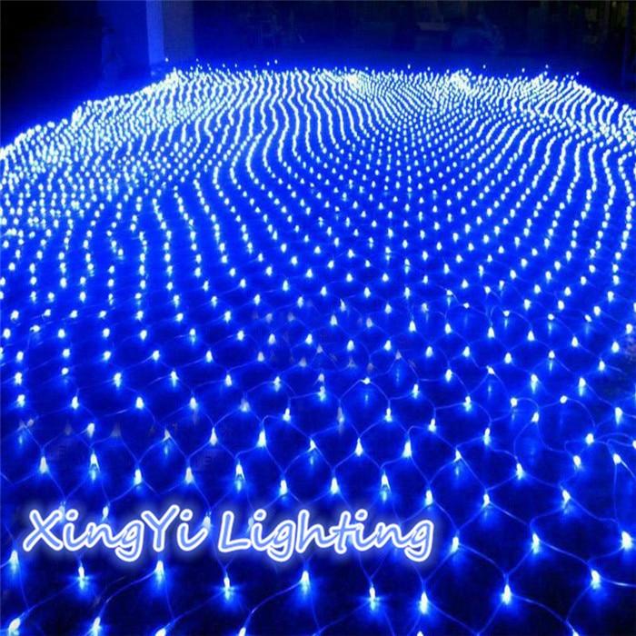 3M x2M 210 LED Fairy String Xmas Tree Mesh Curtain Ceiling House Window Wall Net Light Festival Christmas Holiday Decoration
