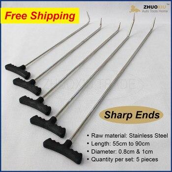 Paintless Dent Repair car body repair tool pdr rods prybar auto panel door fender hood pry bar pull bars metal sheet pdr tools
