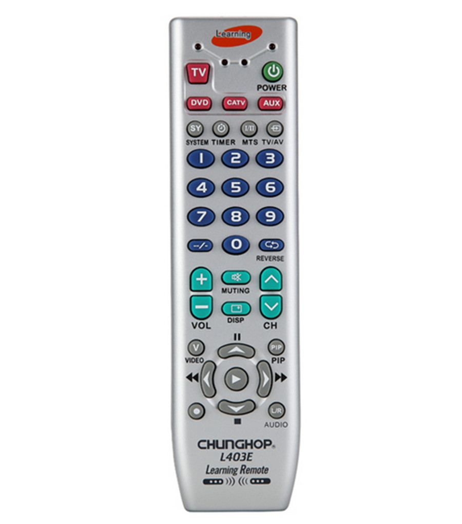 1PCS Chunghop L403E Combinational Universal Remote Controller Learning remote control For TV SAT DVD CBL DVB
