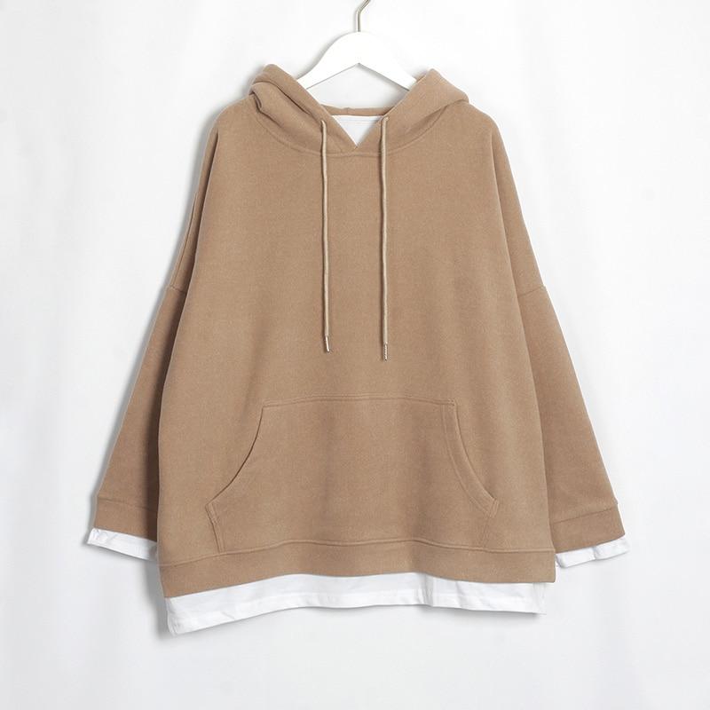HTB1BVYyaAL0gK0jSZFAq6AA9pXaA Wixra Women Casual Sweatshirts Warm Velvet Long Sleeve Oversize Hoodies s 2020 Autumn Winter Pullover s