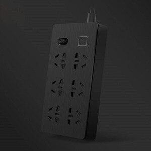 Image 3 - YOUPIN Airgo 전원 스트립 6 포트 3 USB 확장 6 소켓 3 USB 고속 충전 5V 2.1A Аor 가정 및 여행