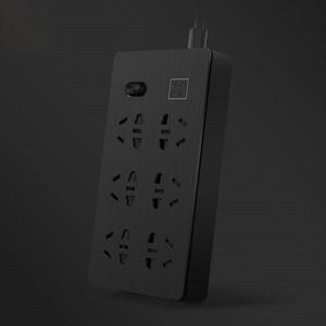 Image 3 - YOUPIN Airgo כוח רצועת 6 יציאות 3 USB הארכת 6 שקע 3 USB תשלום מהיר 5V 2.1A Аor בית ונסיעות