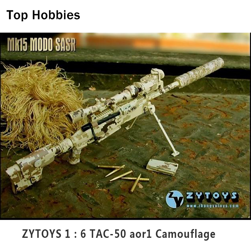 Scale 1/6 Gun Model MK15 TAC-50 aor1 Desert Camo LRSW Sniper Rifle Doll Toys for 12Soldier Action Figure Weapon Accessories 1 6 scale rifle gun model for 12 inches action figure accessories collections x80028 m700pss x80026 psg1
