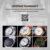 Relógio eletrônico Homens Famosa Marca HOSKA Moda Esporte Display LED Cronômetro Luminoso Back Light Rubber Band Digital-Relógio H013