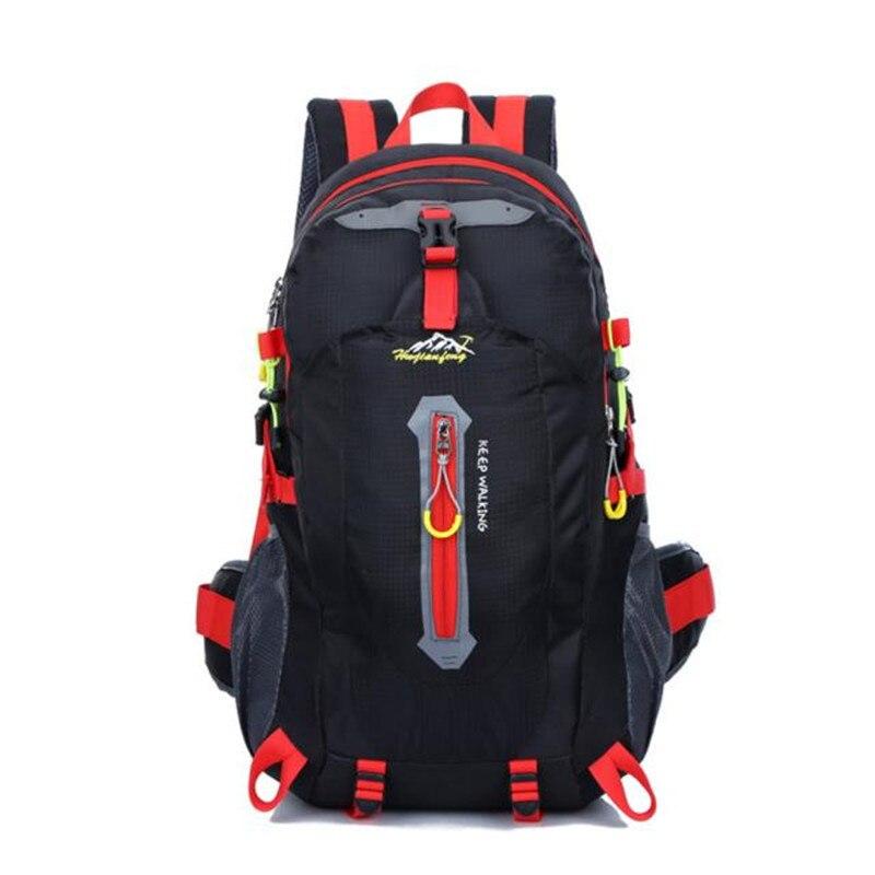Tas ransel 40L Luar Hiking Camping Waterproof Nylon Rucksack Backpack Tas Travel Bagasi 2017, JULI 5