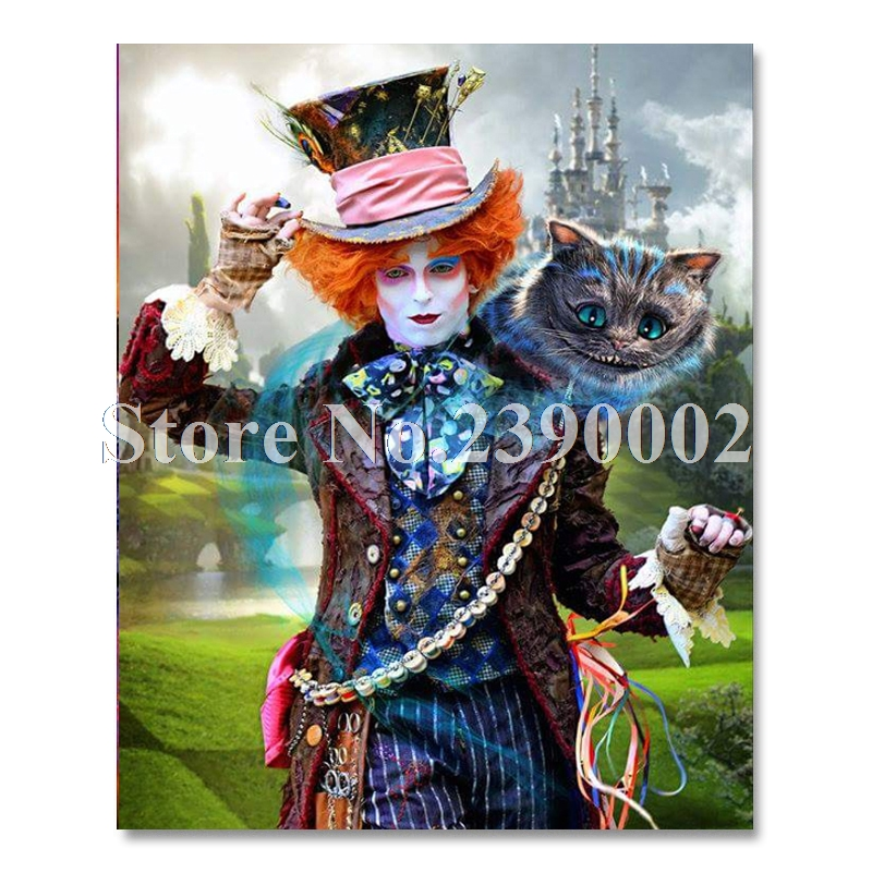 Arts,crafts & Sewing Needle Arts & Crafts Responsible Dpf Needlework Diamond Embroidery Diy Square Diamond Pasted Painting Wall Decoration Free Shipping Two Girls And Cat
