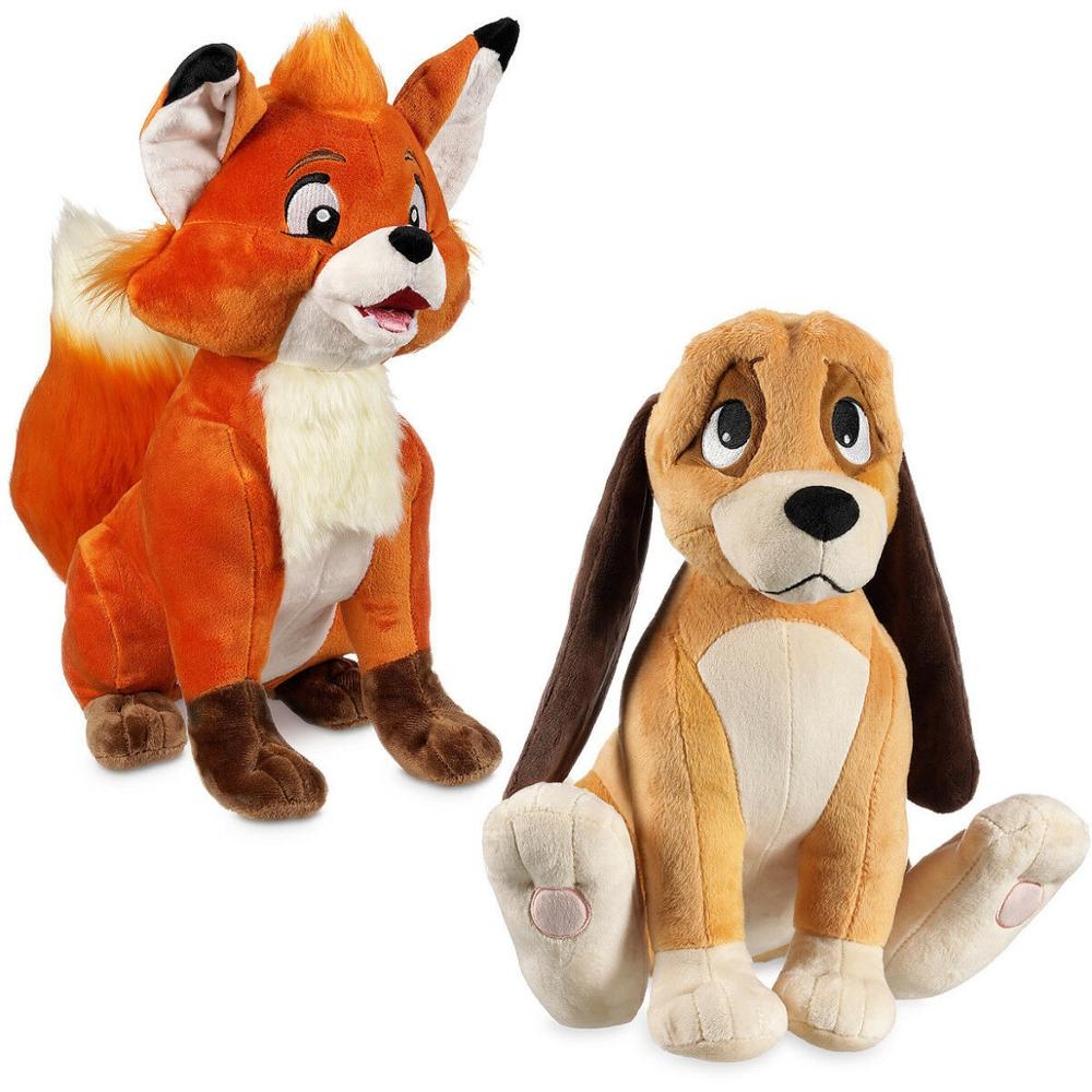 New The Fox & The Hound Tod Todd And Copper Stuffed Plush Doll Toy 14