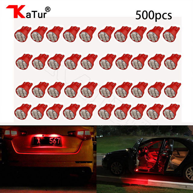 500pcs T10 W5W Car LED 1206 8 SMD Interior Lighting Dome Liscence...