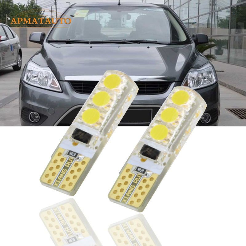 2 x Car Styling T10 W5W  T16 LED Clearance Light Marker Lamp Bulb Source Canbus For Ford Focus Fiesta  Edge Mondeo Kuga Ecosport