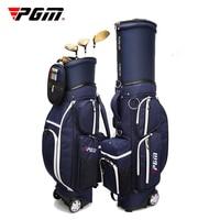 Pgm Многофункциональный Гольф Стандартный сумка Для мужчин Для женщин Гольф профессиональный мяч мешок колесный Гольф Путешествия сумка ме