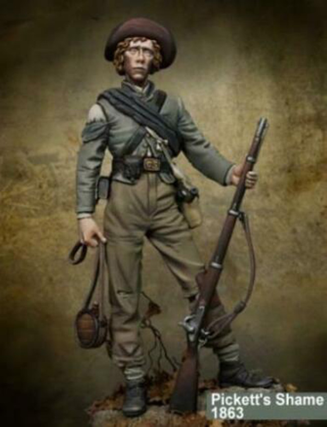 1/24 75MM  Standing Soldier In Ancient Winter  75MM   Resin Figure Model Kits Miniature Gk Unassembly Unpainted