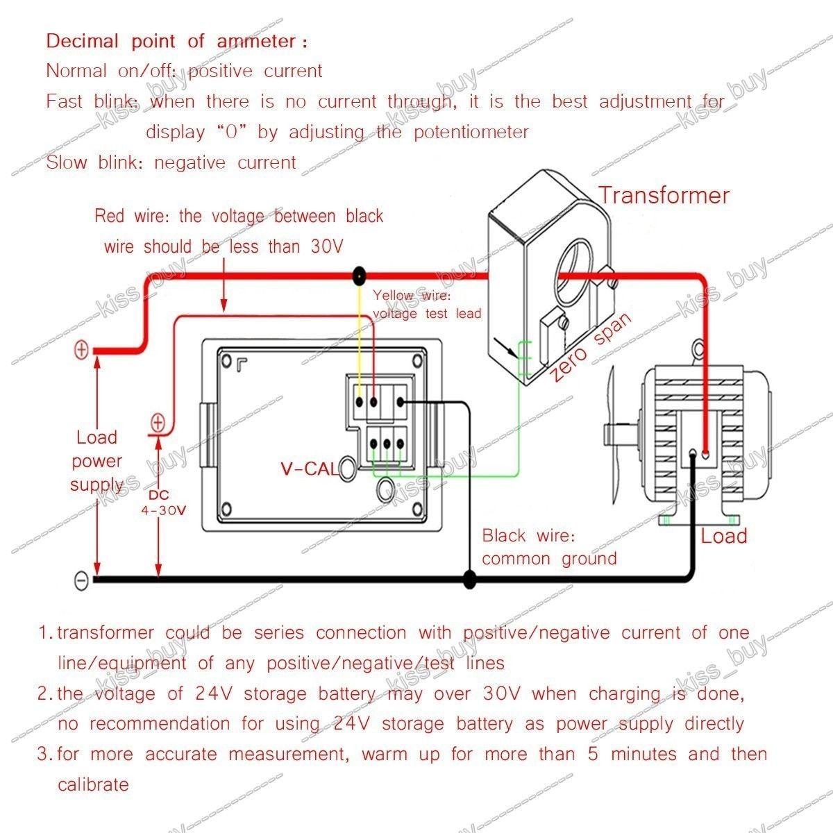 ampere meter wiring diagram wiring diagram digital volt amp meter  [ 1200 x 1200 Pixel ]
