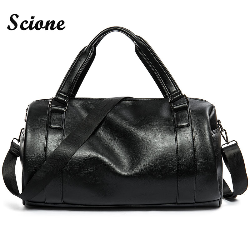 mens leather duffle bag - Mens Leather Duffle Bag
