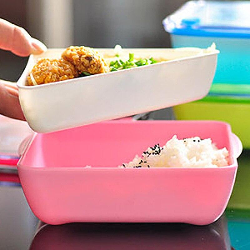 2015 new arrival fashion plastic bento lunch box food. Black Bedroom Furniture Sets. Home Design Ideas