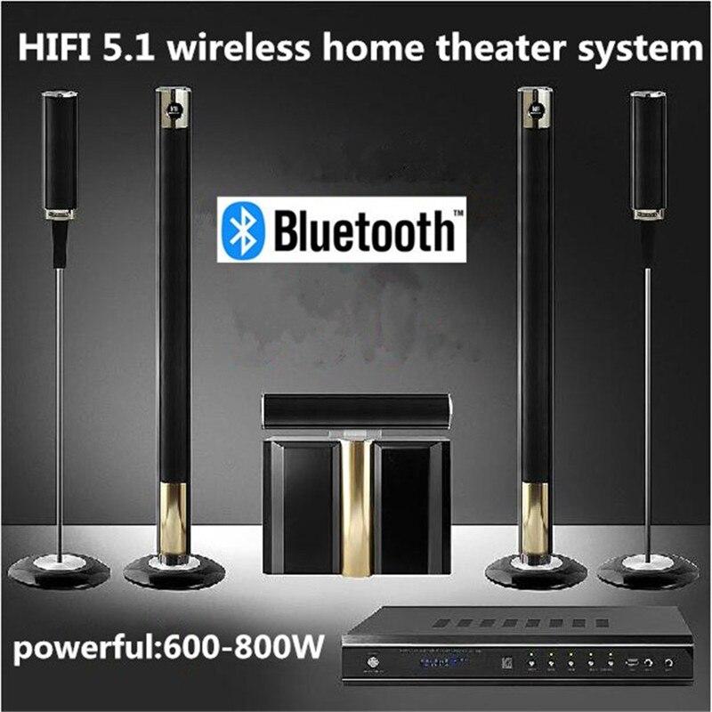 Brand New Hot 5.1 Wireless Home Theater System 800W Cinema