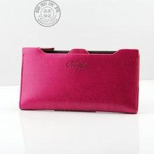 Vente chaude de haute qualité PU portefeuille en cuir pour femmes mode d'embrayage à Long femmes portefeuilles titulaire de la carte portefeuille femme porte – monnaie