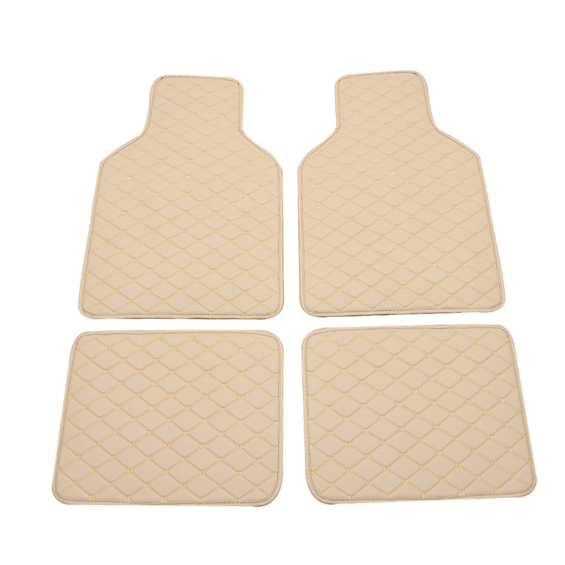 Universal Car floor mats for BMW 3 5 7 Series F20 E90 F30 E60 F10 X1 X2 X3 X4 X5 X6 car styling waterproof carpet floor mats