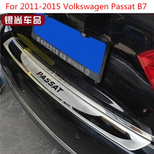Высококачественная нержавеющая сталь снаружи порога Накладка охранников крышки отделки авто для 2011-2015 Volkswagen Passat B7/B6
