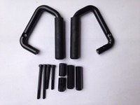 Wrangler Steel Roll Bar Mount Side Grab Handle Kit Car Interior Accessories front and rear J039