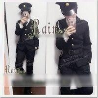 Anime Mr Osomatsu San Policeman Cop Uniform Full Set Hat Cosplay Costume Customize Any Size Free