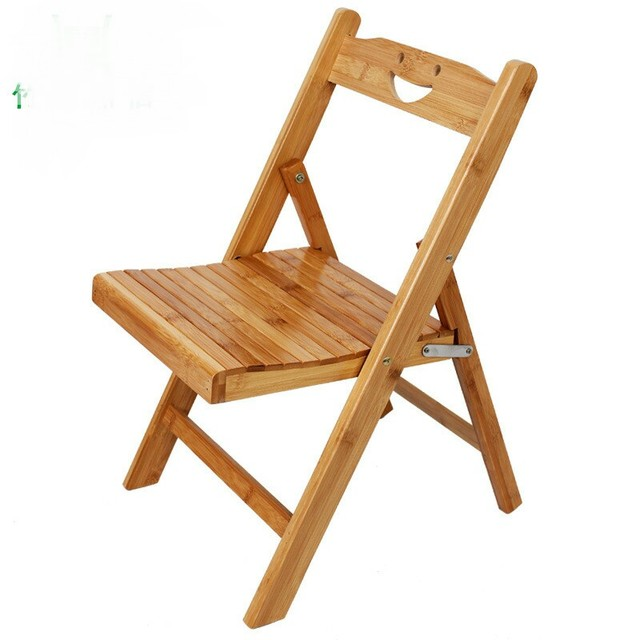 Bamboo Children Chairs Kids Furniture Bamboo Backrest Folding Portable Kids  Chairs Whole Sale Hot New