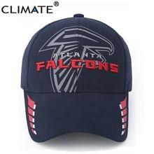 CLIMATE USA National Football Atlanta Team Falcons Fans Super Bowl Baseball Caps New England Patriots Caps Hat Men Women