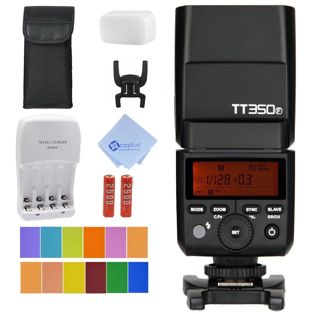 Godox TT350F Mini Fujifilm Speedlite Camera Flash TTL HSS GN36 High Speed 1 8000S 2 4G