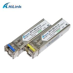 Image 4 - Frete grátis! Lc/sc 1g wdm única fibra 1000base bx 1.25g 1310nm/1550nm 3km dom bidi sfp