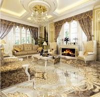 High Quality 3d Europea Floor Murals Living Room 3d Floor Wallpaper Custom Photo 3d Flooring Papel