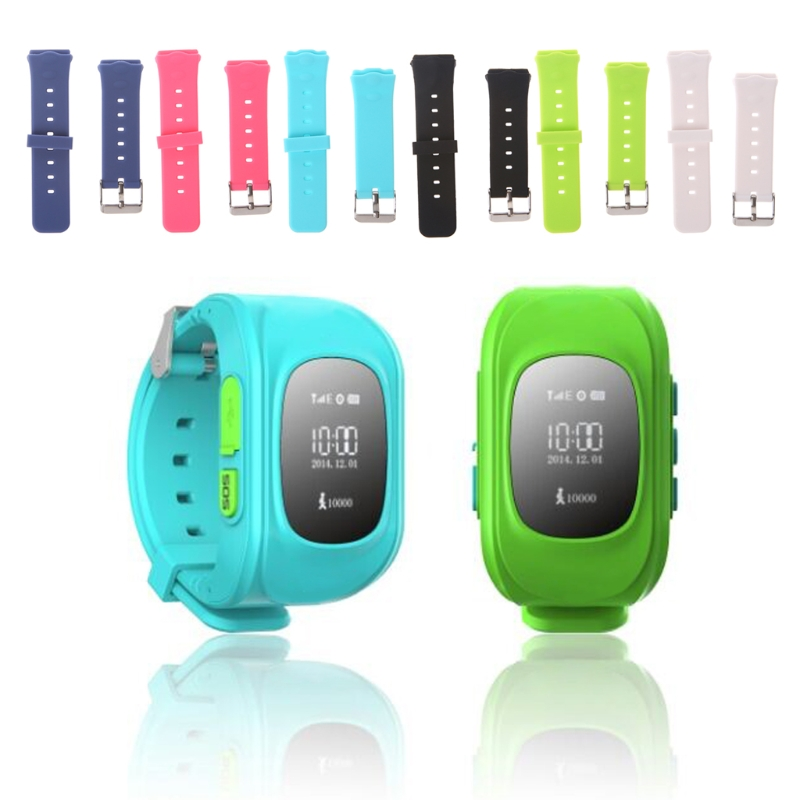 OOTDTY Smart Locator Tracker Watch Replacement Band For Children Wrist Strap For Q50 Y3 Kids Smart Wearable Accessories
