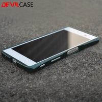 DEVILCASE для Sony Xperia Z5 DEVILCASE Алюминий металлический бампер рамка E6603 E6633 E6653 E6683 Z5 5,2 дюймов Fundas Coque