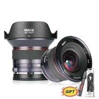 Майке 12 мм f/2,8 широкоугольный устанавливаемый объектив со съемной крышкой для Nikon N1 Крепление камеры