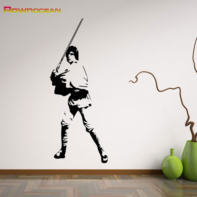 Home Decoration Star Wars Jedi Knights Wall Stickers For Kids Rooms
