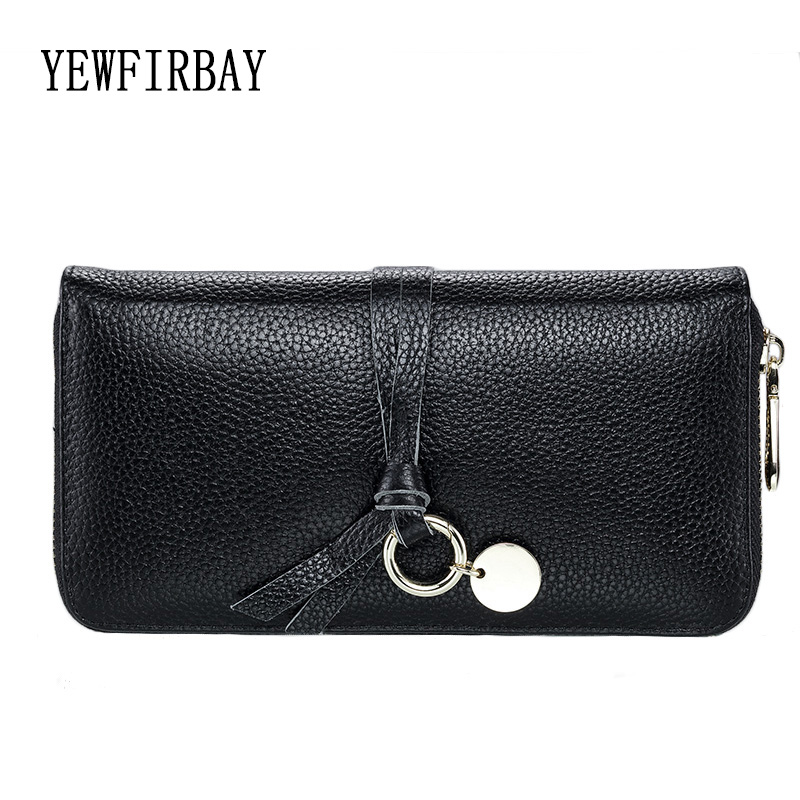 YEWFIRBAY brand wallets women new fashion cards holders genuine leather wallet female coin purses girl Long wallet lady wallets 2016 fashion new brand women coin purses holders genuine leather small wallets hobos design sac femme female