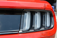 Fit für FORD MUSTANG 2015 kohlefaser nebelschlussleuchte rahmen box kohlefaser bremsleuchte dekoration