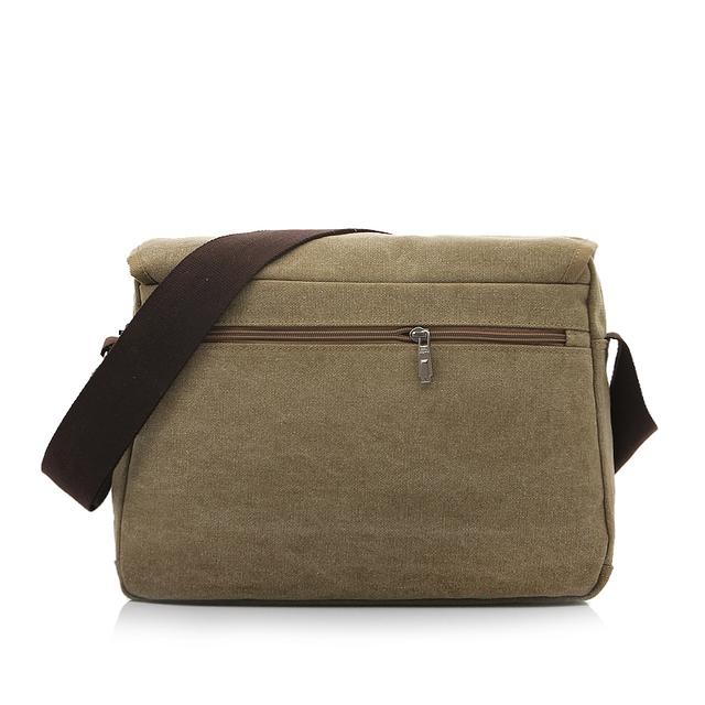 Canvas Man Briefcase Fashion Men's Shoulder Bag Canvas Messenger Bags Male Business Crossbody Bag Printing Handbag 1142
